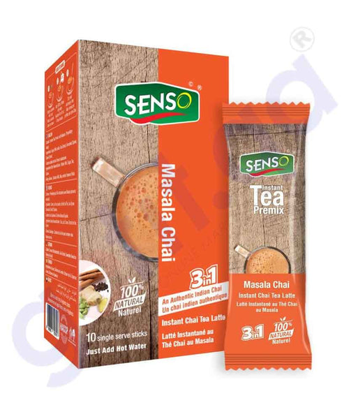 GETIT.QA | Buy Senso Masala Chai 20gm Best Price Online in Doha Qatar