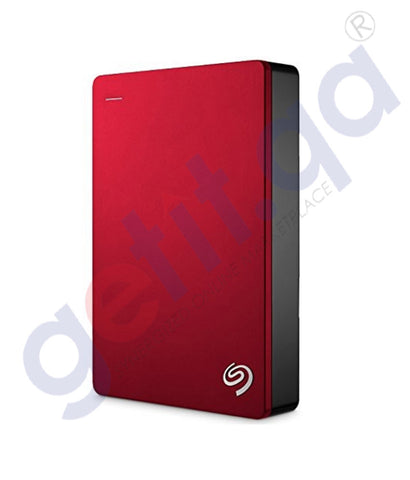 GETIT.QA | Buy Seagate Backup Plus 5TB Red HDD Online in Doha Qatar