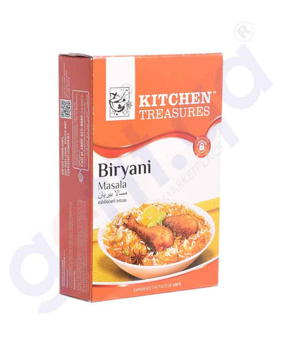 KITCHEN TREASURES BIRYANI MASALA 160GM