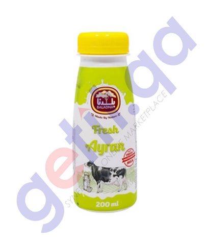 Buy Baladna Fresh Ayran 200ml Price Online in Doha Qatar