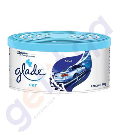 GLADE MINI GEL AQUA 70GM
