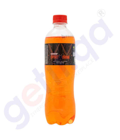 Buy Qatarat Sport Drink Peach-Passion Fruit 500ml Doha Qatar