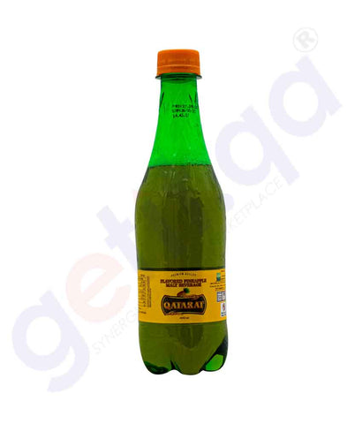 Buy Qatarat Malt Flavors Pineapple 400ml Online Doha Qatar