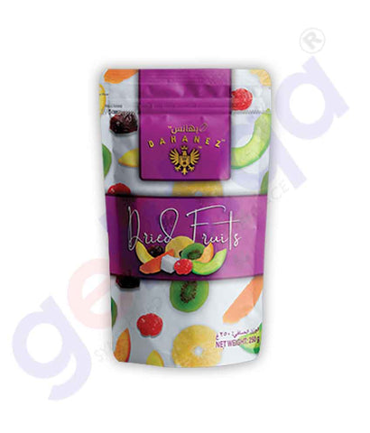 Buy Bahanez Dried Fruits 250gm Price Online in Doha Qatar