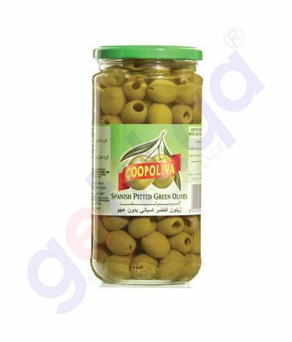 COOPOLIVA PITTED GREEN OLIVE 160 GMX 2PCS
