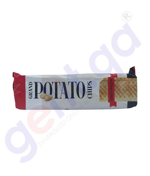 Buy Grand Potato Chips Chilli-Lime 90gm Online Doha Qatar