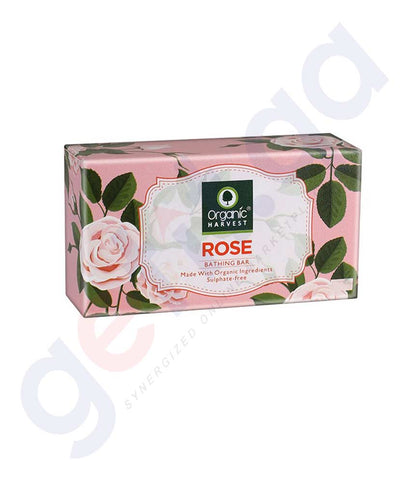 Buy Organic Harvest Rose Soap 175g Online in Doha Qatar