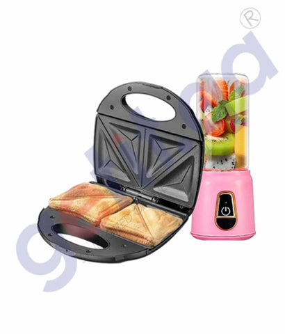 Buy Belaco Sandwich Maker+ Juicer 380ml Online Doha Qatar