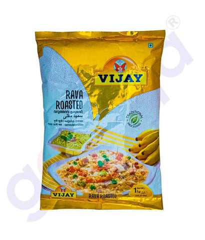 Buy Vijay Roasted Rava 1kg Price Online in Doha Qatar