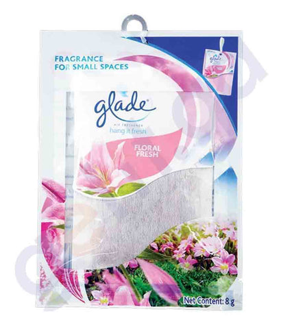 GLADE HANG IT FRESH FLORAL - FRESH 8GM