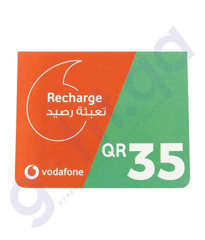 SHOP FOR VODAFONE RECHARGE VOUCHER 35 ONLINE IN QATAR