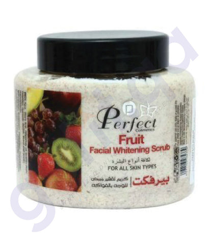 SHOP PERFECT FRUIT FACIAL WHITENING SCRUB 500 ML IN DOHA QATAR