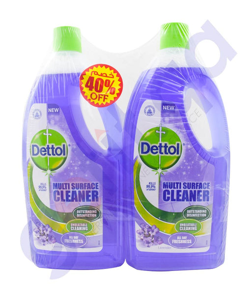 Buy Dettol MPC Lavender 1L TP 40% Off Online in Doha Qatar