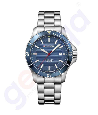 GETIT.QA | Buy Wenger Seaforce Men's Watches 01.0641.120 in Doha Qatar