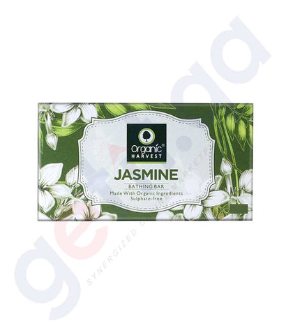 Buy Organic Harvest Jasmine Soap 175g Online in Doha Qatar
