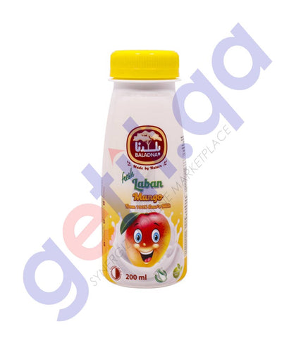 Buy Baladna Fresh Laban Mango 200ml Price Online Doha Qatar