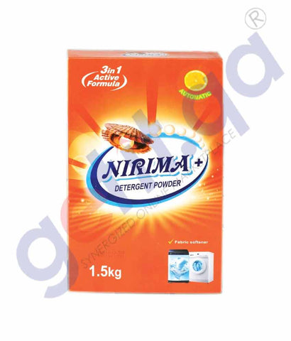 GETIT.QA | Buy Nirima Detergent Powder Box 1.5kg Online in Doha Qatar