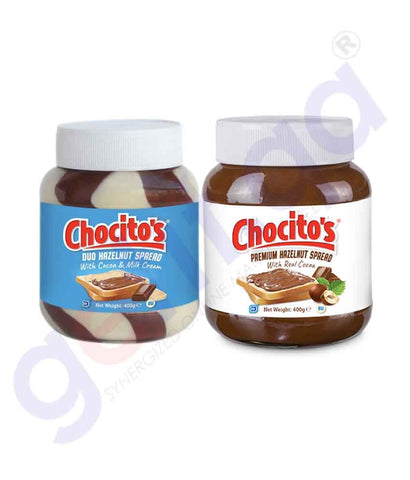 GETIT.QA | Buy Chocitos Premium Hazelnut Spread Two Pack Doha Qatar
