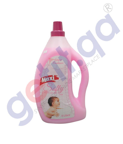 GETIT.QA | Buy Maxi Softener Rose 4Ltr Price Online in Doha Qatar