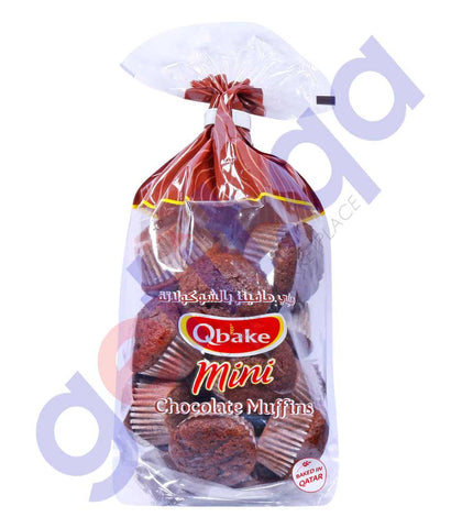 Qbake Mini Muffin Chocolate - Family Pack