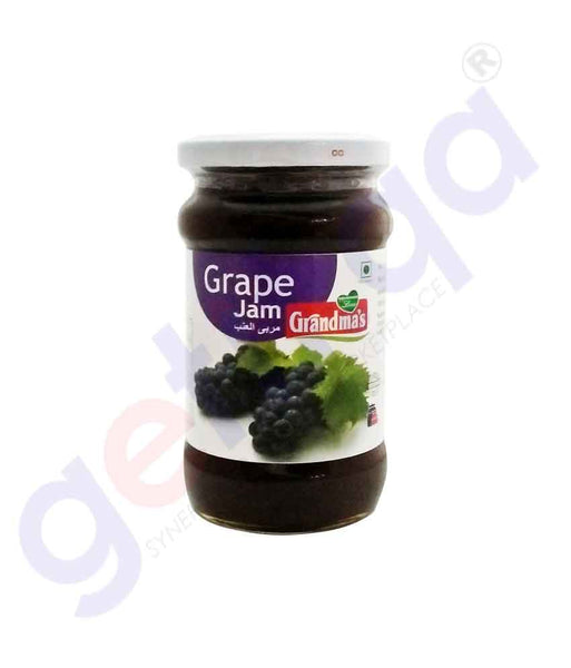 GETIT.QA | Buy Grandma's Grape Jam 350gm Price Online in Doha Qatar