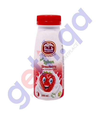 BALADNA STRAWBERRY LABAN 200ML