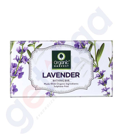 Buy Organic Harvest Lavender Soap 175g Online in Doha Qatar