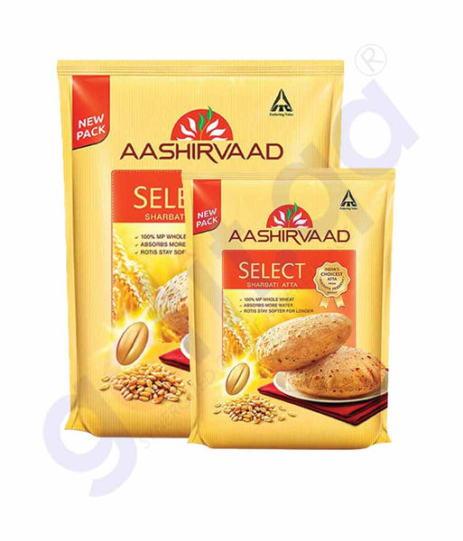 ASHIRVAAD SELECTED ATTA 5KG+2KG