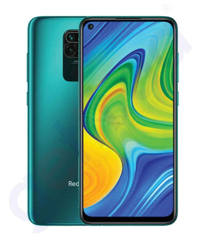 Buy Xiaomi Redmi Note 9- 3GB 64GB Forest Green Price Online Doha Qatar