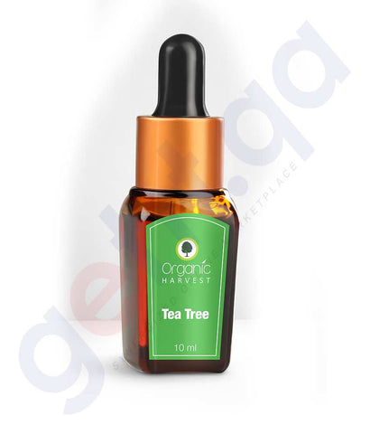ORGANIC HARVEST TEA TREE ESSENTIAL OIL 10 ML