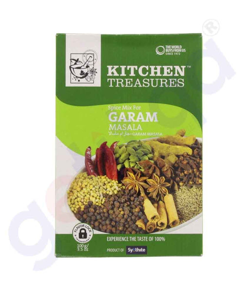 Buy Kitchen Treasures Garam Masala 100gm Online Doha Qatar