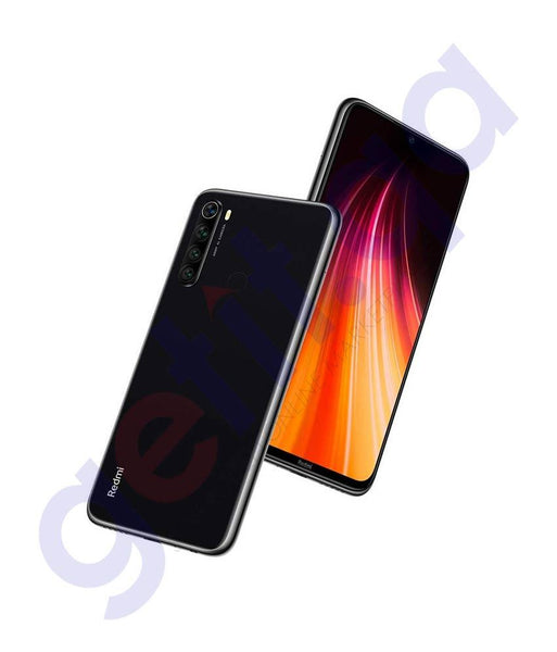 Shop Xiaomi Redmi Note 8 4gb 64gb Space Black Price Online in Doha Qatar