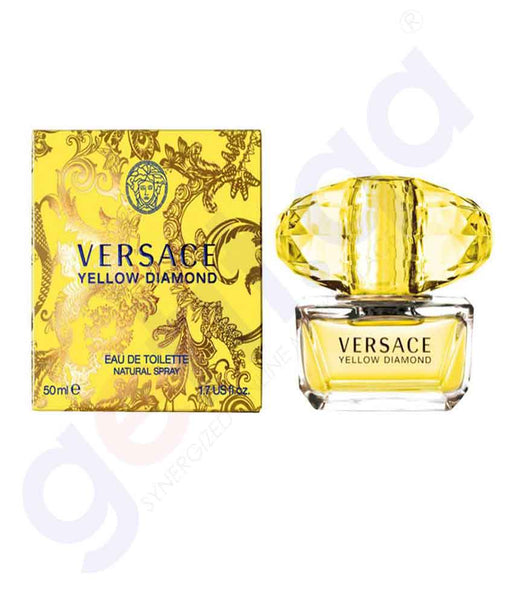 VERSACE YELLOW DIAMOND EDT 50ML FOR WOMEN