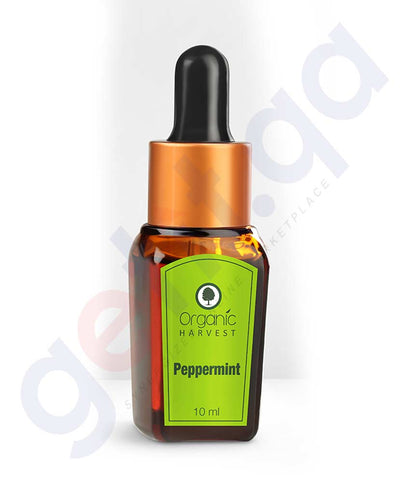 ORGANIC HARVEST PEPPER MINT ESSENTIAL OIL 10 ML