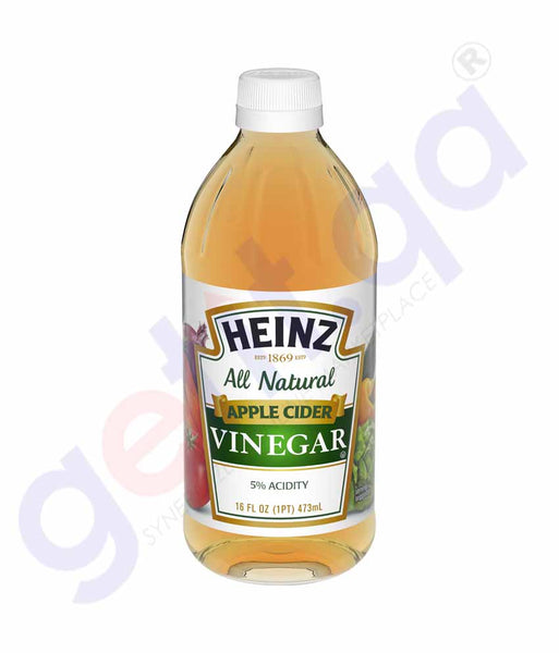 GETIT.QA | Buy Heinz All Natural Apple Cider Vinegar 16oz Doha Qatar