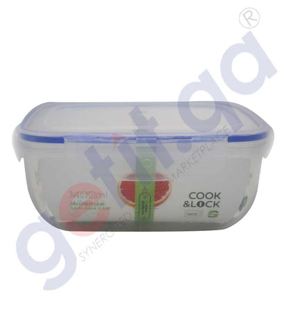 Buy Cook & Lock Storage Container 1400ml Online Doha Qatar