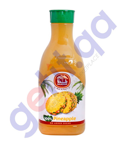 Buy Baladna Pineapple Juice 1.5Litre Price Online Doha Qatar