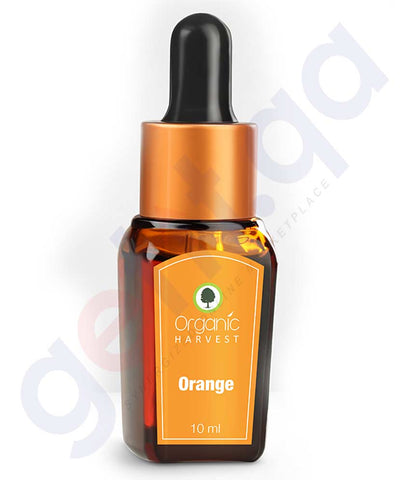 ORGANIC HARVEST ORANGE ESSENTIAL OIL 10 ML