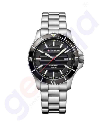GETIT.QA | Buy Wenger Seaforce Men's Watches 01.0641.118 in Doha Qatar
