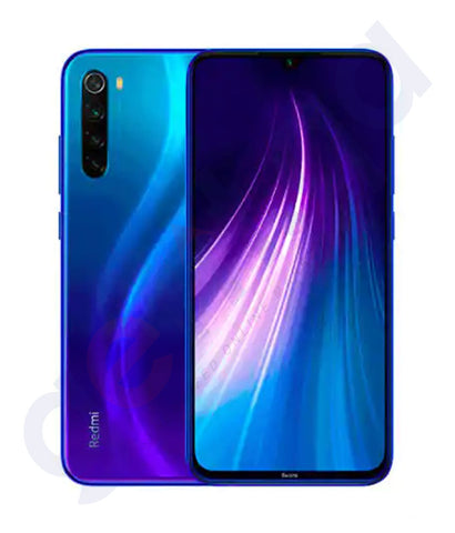 Buy Redmi Note 8 4gb 128gb Blue in Doha Qatar