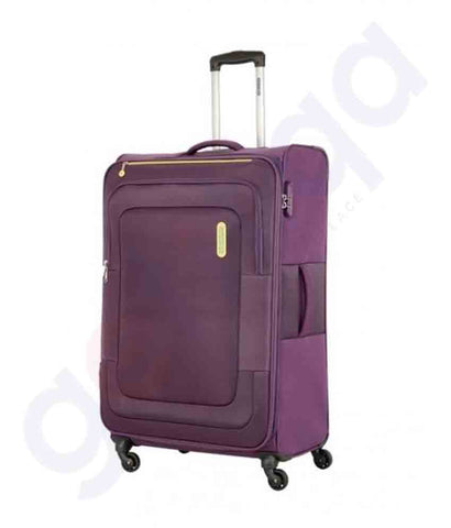 Buy American Tourister Duncan Spinner 68cm Purple Doha Qatar