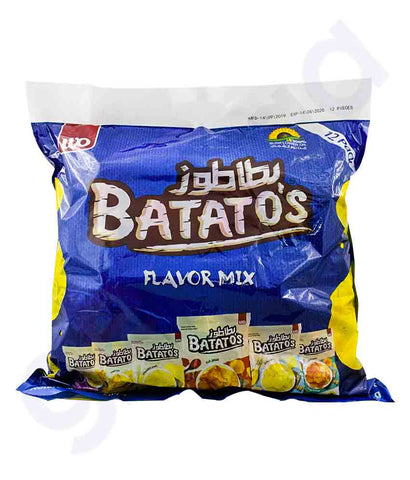 BATATO`S MIX PACK (2xFLAVOR)