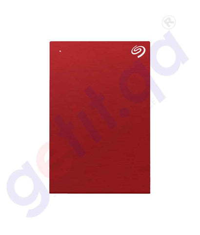 Buy Seagate HDD One Touch Portable 5TB Red in Doha Qatar