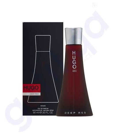 HUGO BOSS DEEP RED EDP 90ML FOR WOMEN