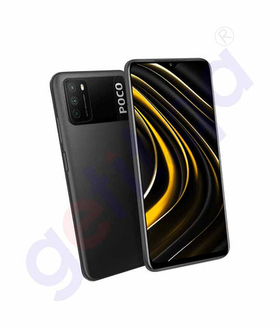 Buy Poco M3 4GB 64GB Black at Best Price Online in Doha Qatar