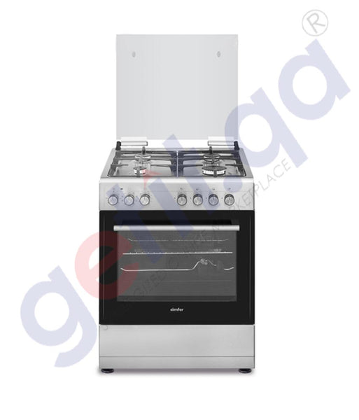 GETIT.QA | Buy Simfer Cooking Range 6060s 60x60-4 Burner in Doha Qatar