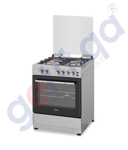 GETIT.QA | Buy Simfer Cooking Range 6060sg 60x60-4 Burner in Doha Qatar