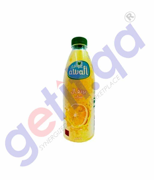 GETIT.QA | Buy Baladna Chilled Juice Orange Awafi 1L Online Doha Qatar