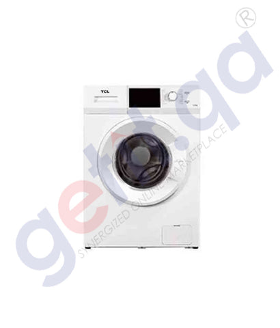 GETIT.QA | Buy TCL Front Load Washing Machine 7kg White Online Doha Qatar