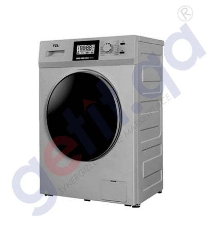 GETIT.QA | Buy TCL Front Load Washer 8Kg- Dryer 5Kg TM-WD80-50S Doha Qatar